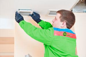 instalacion y mantenimiento de equipos de climatización destinados a comercios