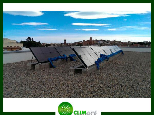Paneles solares termicos