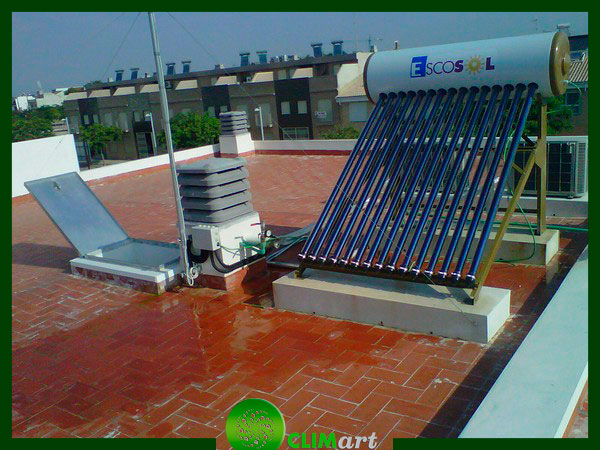 panel solar termico